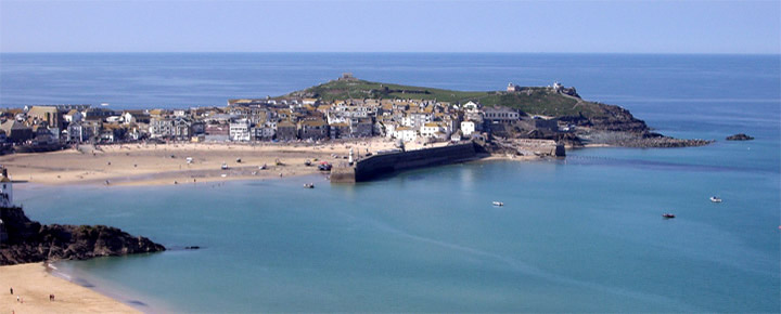 St Ives Harbour from Tregenna Hill